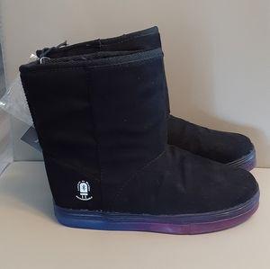 Fleece Lined Mini Boots- Size 3